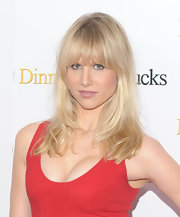 Lucy Punch went to the 'Dinner for Schmucks' premiere wearing a simple straight 'do.