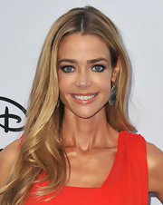 Denise Richards golden blonde locks looked totally gorgeous at the Disney Media Upfront.
