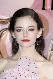 Mackenzie Foy kept it youthful with this half-up hairstyle at the European premiere of 'The Nutcracker.'