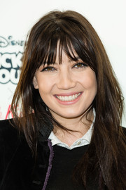Daisy Lowe kept it casual with this mildly messy hairstyle at the Disney x Cath Kidston VIP launch.