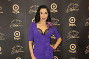 Dita Von Teese poses at the Von Follies by Dita Von Teese for Target photo call on March 9, 2012 in Melbourne, Australia.