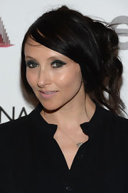 Stacey Bendet pulled back her black locks into a messy updo for the 'Madonna: The MDNA Tour' premiere.