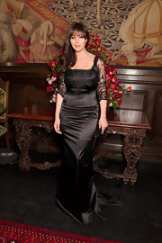 Monica epitomized elegance at the Dolce & Gabbana dinner in Russia.