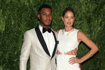 Doutzen Kroes Sunnery James Arrivals at the Fashion Fund Finalists Celebration