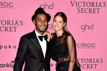Doutzen Kroes Sunnery James Arrivals at the Victoria's Secret Fashion Show Afterparty