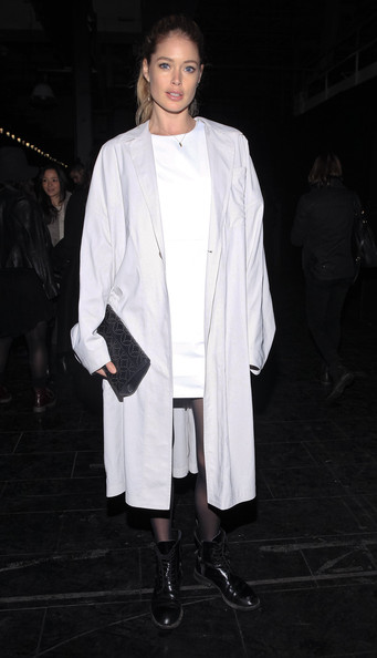 Theyskens' Theory - Front Row - Fall 2013 Mercedes-Benz Fashion Week