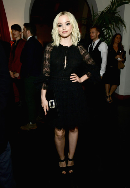 Dove Cameron Peep Toe Pumps