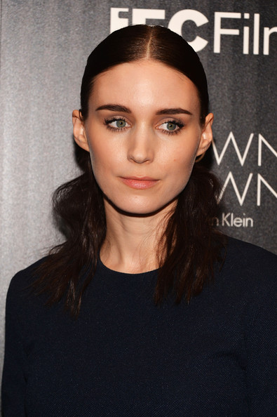 To keep her look minimal and natural, Rooney stuck to a flesh-toned lip.