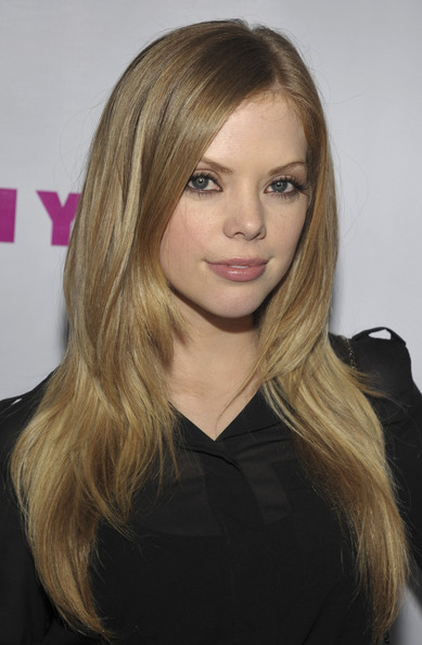 Dreama Walker Layered Cut