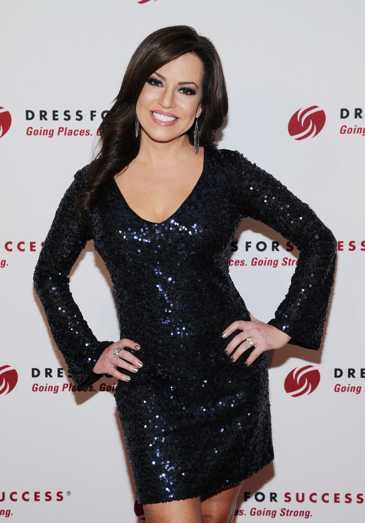 More Pics of Robin Meade Beaded Dress (1 of 12) - Robin Meade Lookbook - StyleBistro