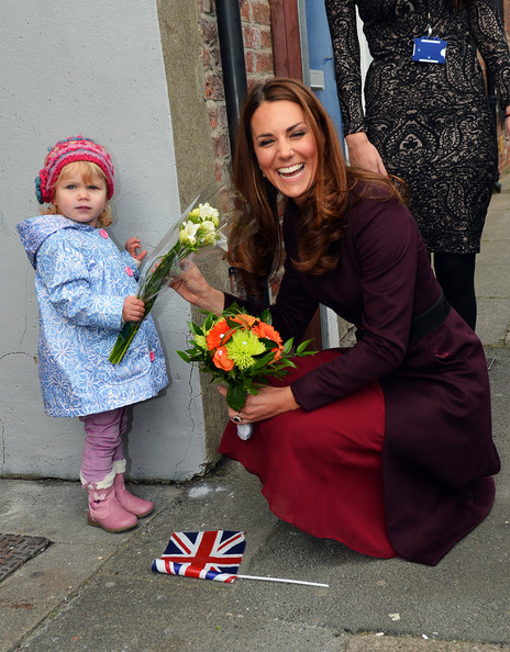 The Duchess Of Cambridge Visits The North East