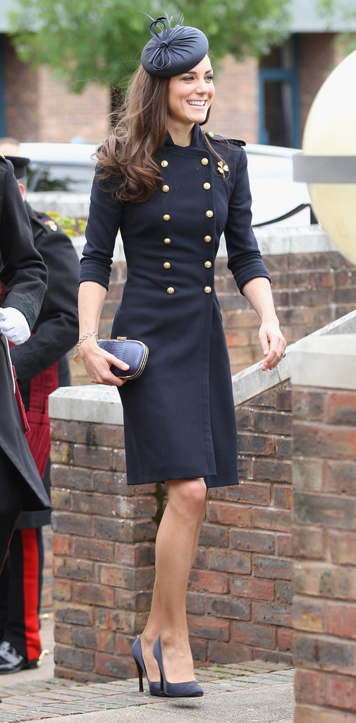 Kate+Middleton in The Duke And Duchess Of Cambridge Attend The Irish Guards Medal Parade