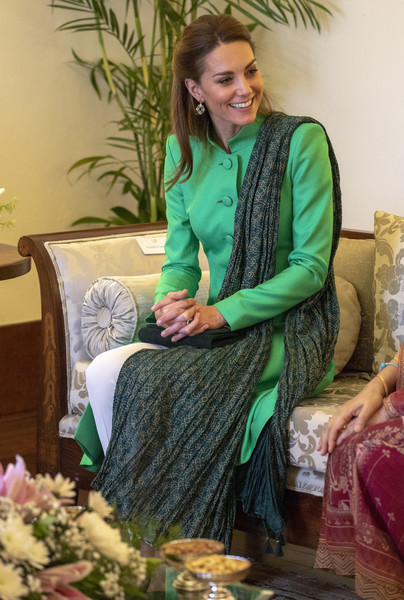 Every Outfit Kate Middleton Wore On The Royal Tour Of Pakistan