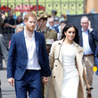 The First Public Maternity Look: Meghan