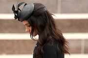 Meghan Markle sported a gently wavy half-up hairstyle at the official opening of ANZAC Memorial in Australia.
