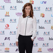 Cassidy Freeman at the A&E Upfronts in New York