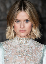 Alice Eve looked adorable with her short wavy cut at the 2020 EE British Academy Film Awards.