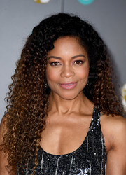 Naomie Harris looked gorgeous with her long curls at the 2020 EE British Academy Film Awards.