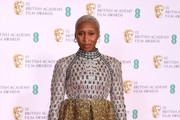 Cynthia Erivo Beaded Dress