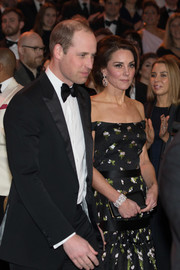 Kate Middleton stunned with this Philip Antrobus diamond and platinum bracelet at the 2017 BAFTAs.