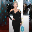 Alice Eve in Alessandra Rich
