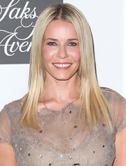 Chelsea Handler's blonde locks looked sleek and smooth and totally brightened up her face!