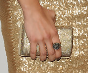 Jenna Dewan-Tatum wore a gold poison ring at the 'Elle' 18th Annual Women in Hollywood Tribute.