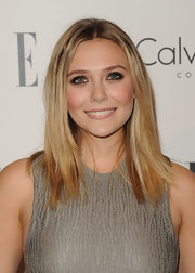 Elizabeth Olsen's cute cut looked ultra casual at the 'Elle' 18th Annual Women in Hollywood Tribute.