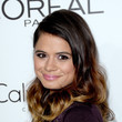 Melonie Diaz's ombre waves and petal pink lips