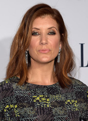 Kate Walsh styled her shoulder-length locks with big, subtle waves for the Elle Women in Television dinner.