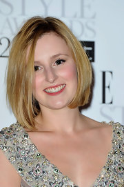 Laura Carmichael looked fresh with her golden mid-length bob down for the Elle Style Awards 2012.