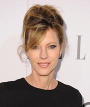 Robbie Myers looked dramatic with her messy beehive at the Elle Women in Television celebration.