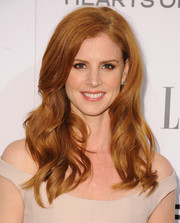 Sarah Rafferty's wavy locks looked so lush at the Elle Women in Television celebration.