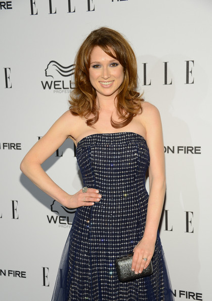 More Pics of Ellie Kemper  Neutral Nail Polish (1 of 5) - Neutral Nail Polish Lookbook - StyleBistro