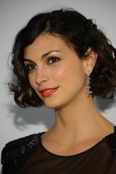 More Pics of Morena Baccarin Red Lipstick (5 of 6) - Morena Baccarin Lookbook - StyleBistro
