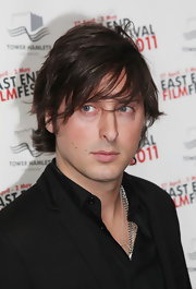 Carl Barat definitely looked the part of a rockstar with his long bangs swept across his face.
