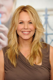 Andrea Roth showed off her long curls while walking the red carpet.