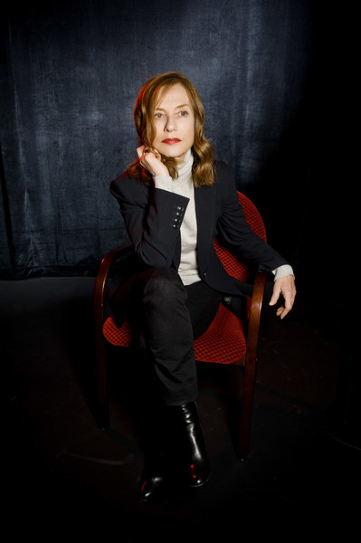 More Pics of Isabelle Huppert Classic Jeans (1 of 10) - Jeans Lookbook - StyleBistro [red,sitting,photography,photo shoot,performance,long hair,flash photography,portrait,furniture,portrait,day 3,champaign,illinois,isabelle huppert]