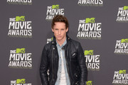 Eddie Redmayne Leather Jacket