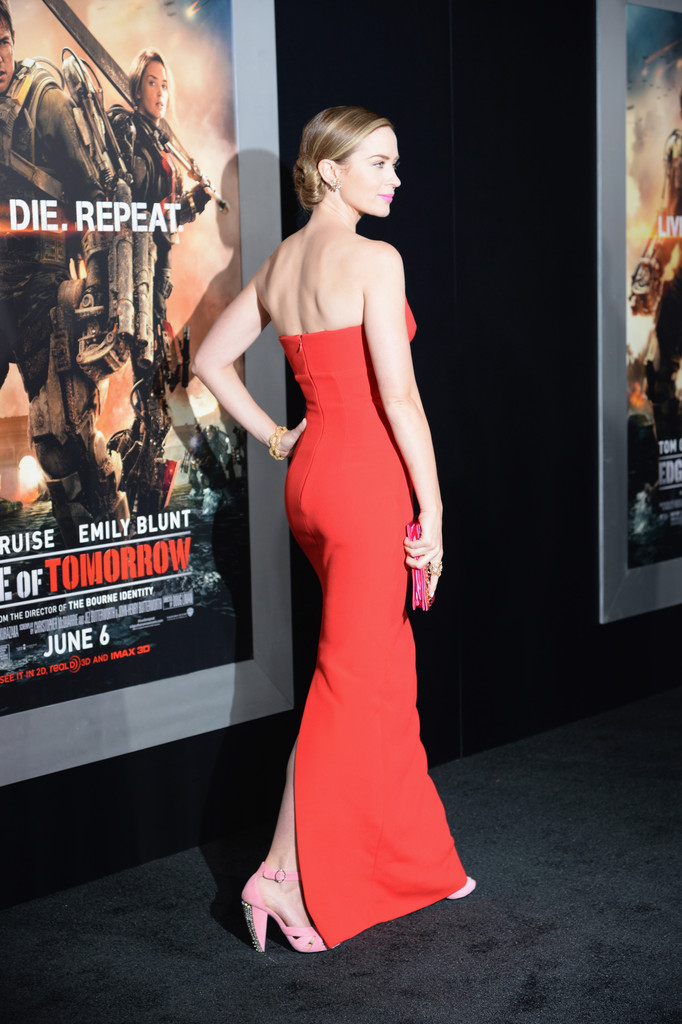 Emily Blunt's Stunning Premiere Gown