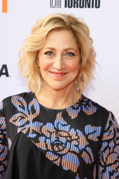 Edie Falco Short Wavy Cut [i love you daddy,hair,face,hairstyle,blond,shoulder,beauty,chin,neck,lip,smile,edie falco,hair,hairstyle,face,shoulder,beauty,neck,ryerson theatre,toronto international film festival]