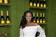 Aja Naomi King Off-the-Shoulder Dress
