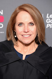 Katie Couric wore her hair in a classic bob when she attended the Women in the World Summit.