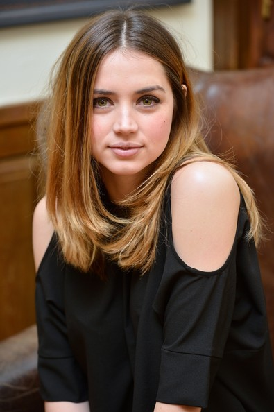 More Pics of Ana de Armas Studded Boots (1 of 26) - Ana de Armas Lookbook - StyleBistro [madrid photocall,hair,blond,hairstyle,beauty,long hair,brown hair,layered hair,lip,hair coloring,model,ana de armas,el callejon,photographers,fim,spanish,madrid,academia de cine]