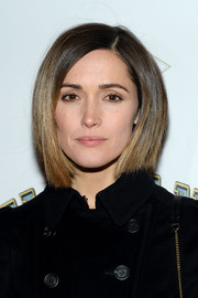 Rose Byrne looked modern and stylish wearing this sleek graduated bob at the 'Elephant Man' opening.