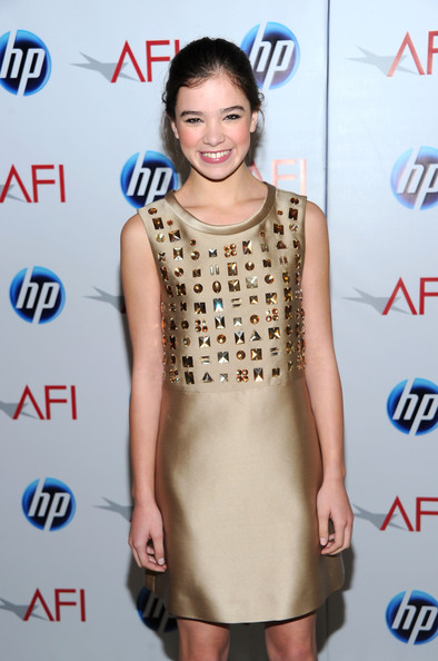 More Pics of Hailee Steinfeld Platform Pumps (1 of 3) - Heels Lookbook - StyleBistro [clothing,dress,fashion model,cocktail dress,fashion,hairstyle,premiere,carpet,fashion design,shoulder,arrivals,hailee steinfeld,eleventh annual afi awards,four seasons hotel,los angeles,california,afi awards]