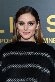 Olivia Palermo attended the Elie Saab Fall 2018 show wearing a sleek mid-length bob.