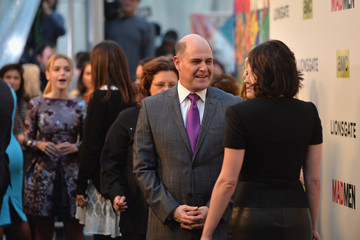 Elisabeth Moss Matthew Weiner 'Mad Men' Season 7 Premiere in Hollywood — Part 2