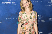 Elizabeth Banks Print Dress