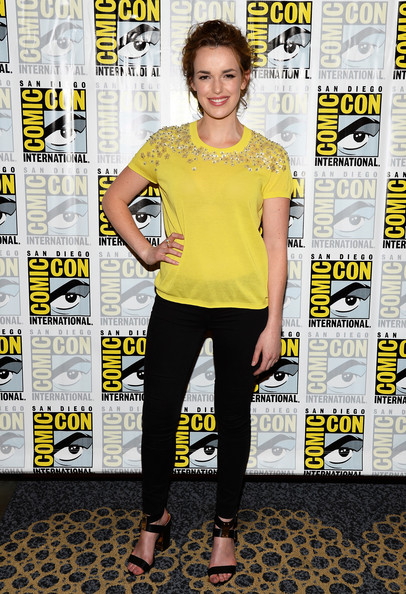 Elizabeth Henstridge Embellished Top